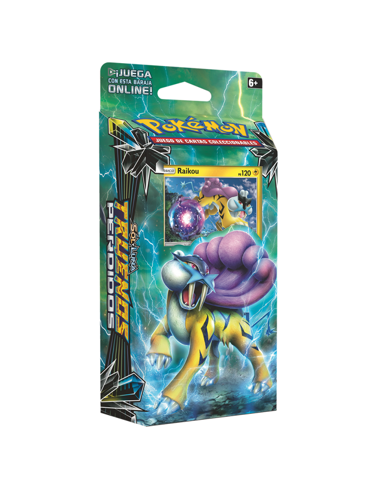 Pokémon JCC: Baraja 60 cartas Sol y Luna Truenos Perdidos - Raikou