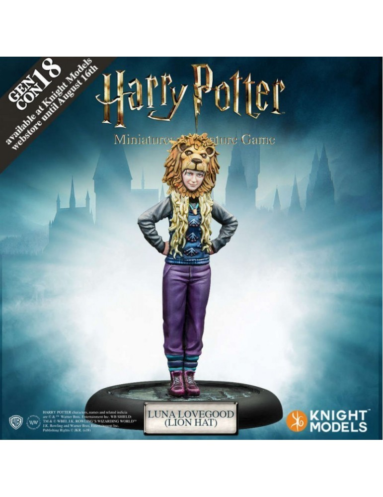 Harry Potter Miniatures Adventure Game: Luna Lovegood Lion Hat (GenCon18 Exclusive)