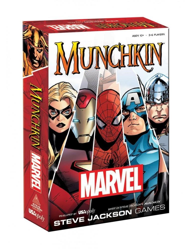 Munchkin Marvel (Inglés)