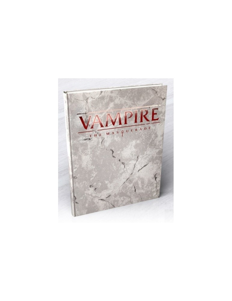 Vampire: The Masquerade 5th Edition - Deluxe Rulebook (Inglés)