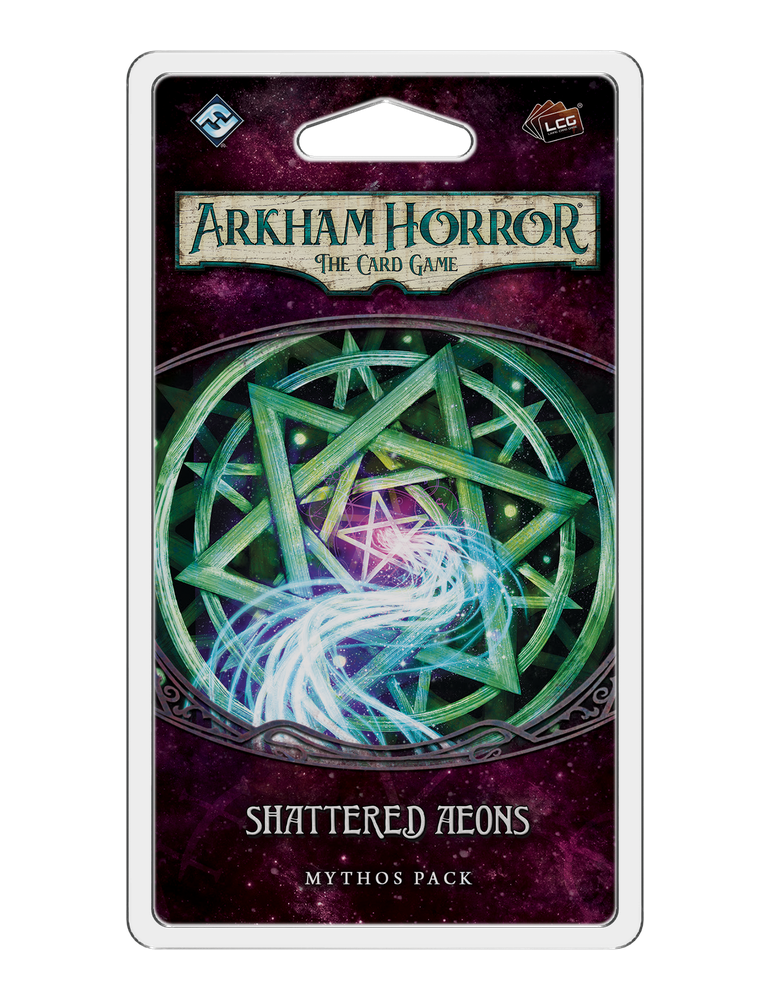 Arkham Horror: The Card Game - Shattered Aeons: Mythos Pack (Inglés)