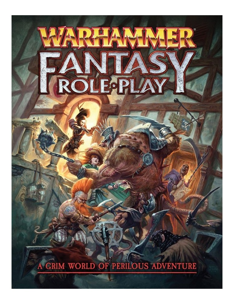 Warhammer Fantasy Role Play RPG - 4th Edition Core Rulebook