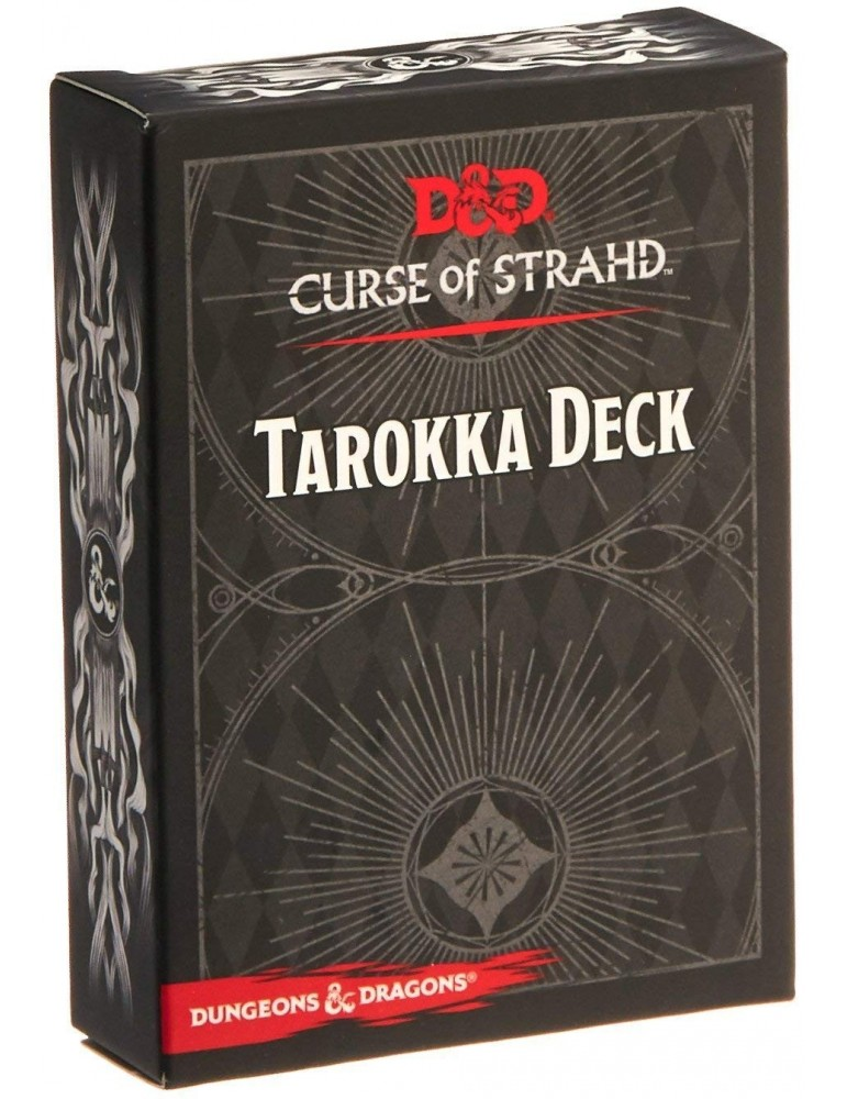 Dungeons & Dragons: Curse of Strahd Tarokka Deck