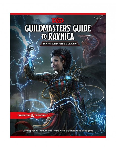 Dungeons & Dragons RPG Guildmasters' Guide to Ravnica - Maps & Miscellany (Inglés)