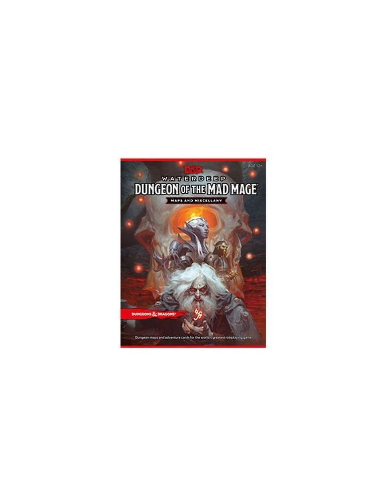 Dungeons & Dragons RPG Waterdeep: Dungeon of the Mad Mage - Maps & Miscellany (Inglés)