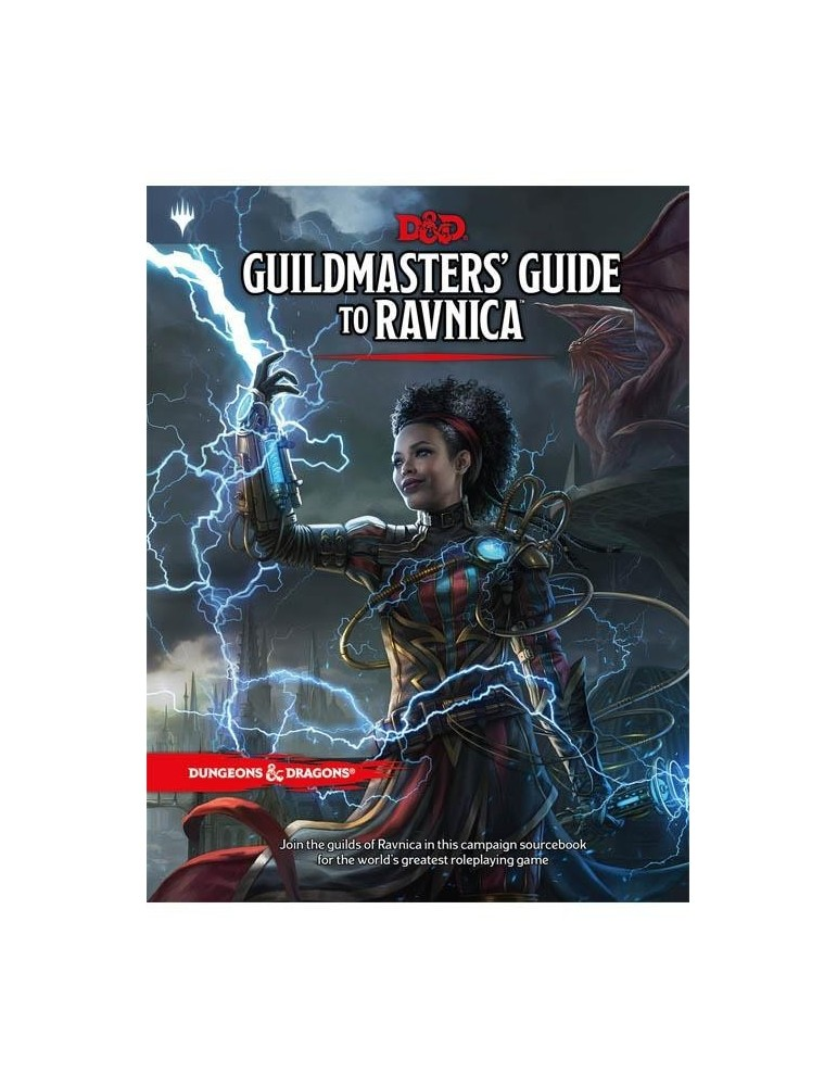 Dungeons & Dragons: Guildmasters' Guide to Ravnica (Inglés)