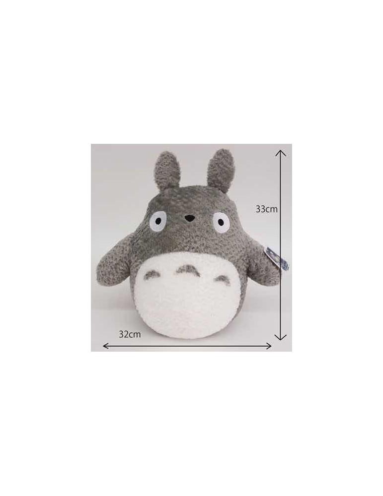Peluche Mullido Mi Vecino Totoro Studio Ghibli: Gran Totoro Gris