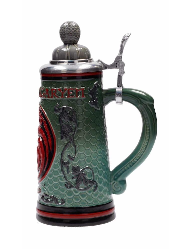 Jarra Ceramica Relieve con Tapa Game of Thrones: Casa Targaryen