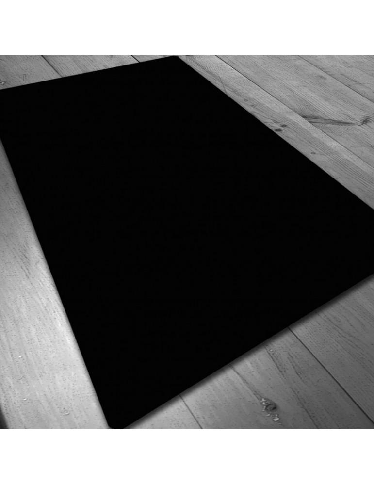 Tapete de neopreno 150x90 cm - NEGRO LISO