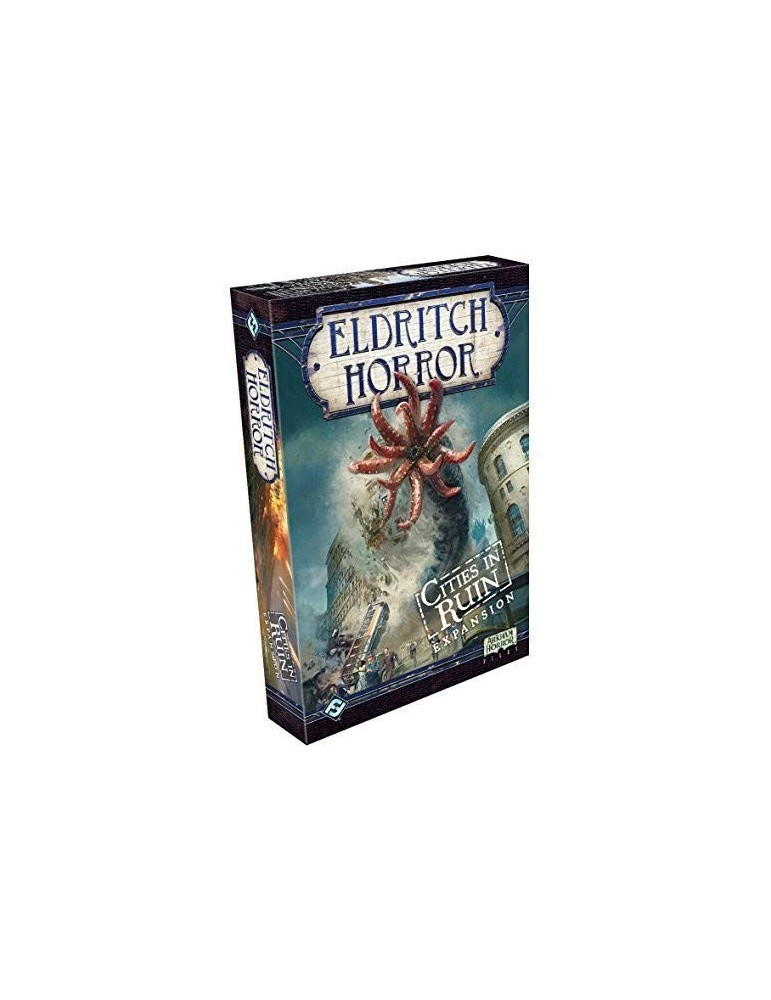 Eldritch Horror: Cities in Ruin (Inglés)