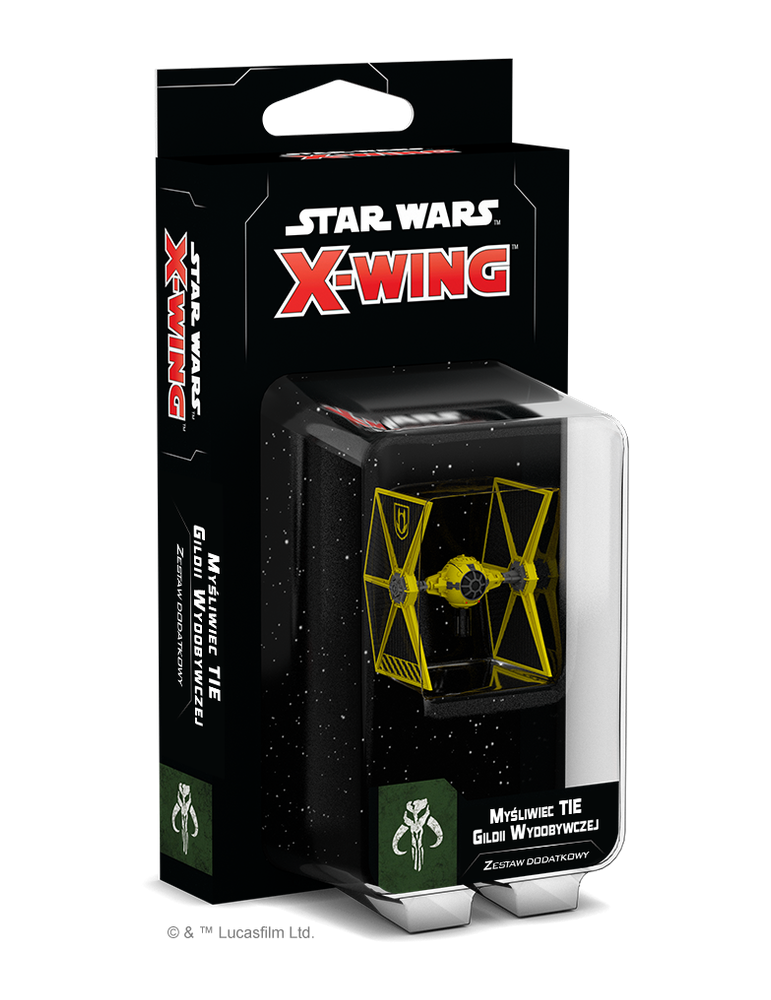 Star Wars X-Wing Second Edition - Mining Guild Tie Expansion Pack (Inglés)