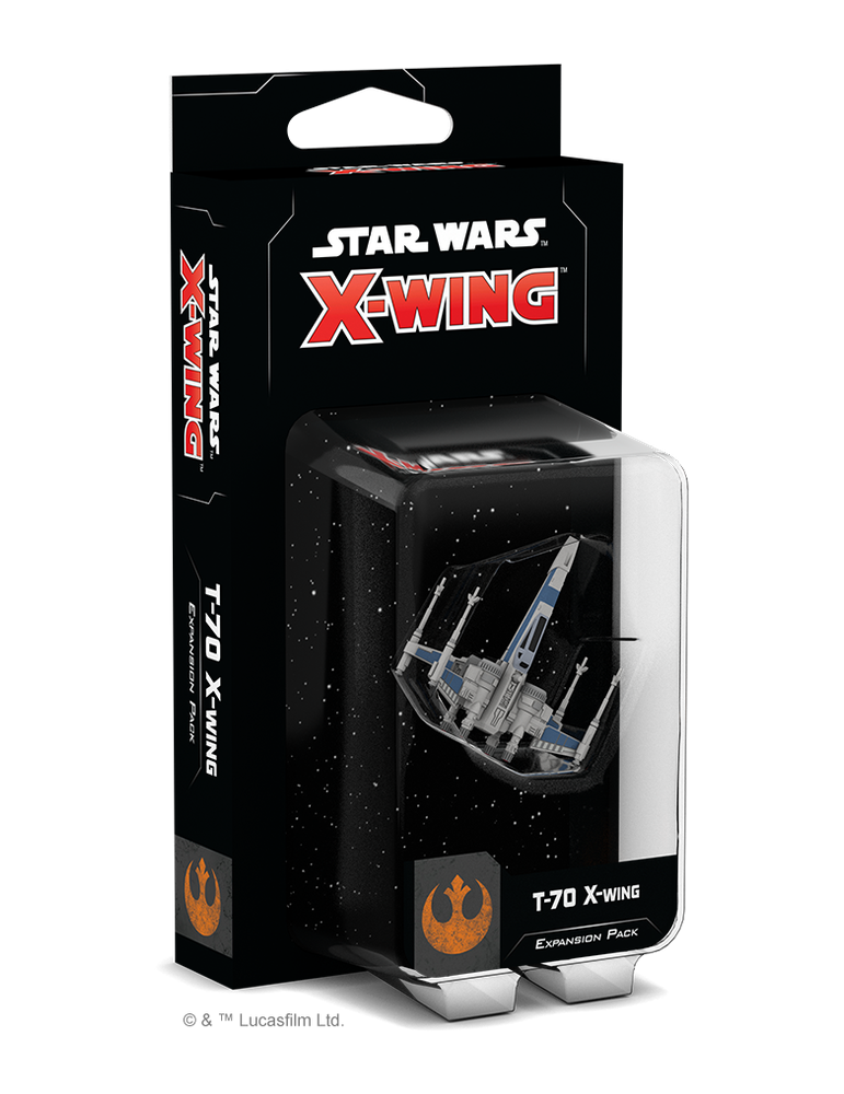Star Wars X-Wing Second Edition - T-70 X-Wing Expansion Pack (Inglés)