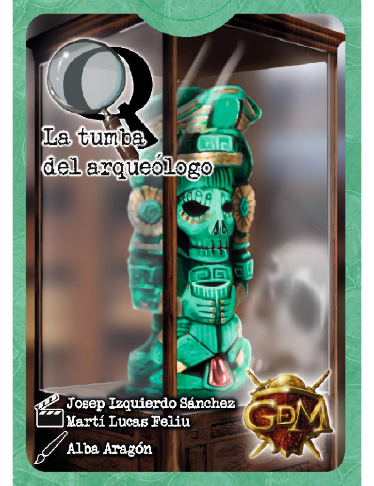 Serie Q: La tumba del arqueólogo (Inglés)
