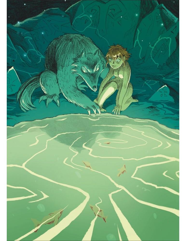 Chica y Lobo / Artbook