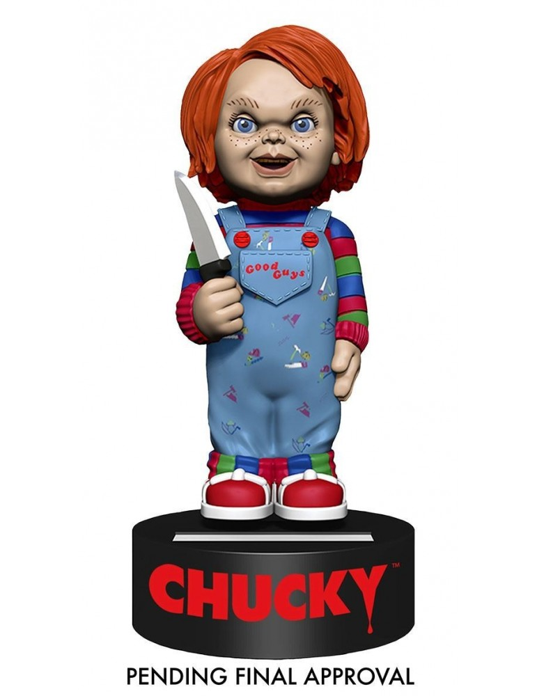 Figura Muñeco diabólico: Movible Body Knocker Chucky 16 cm