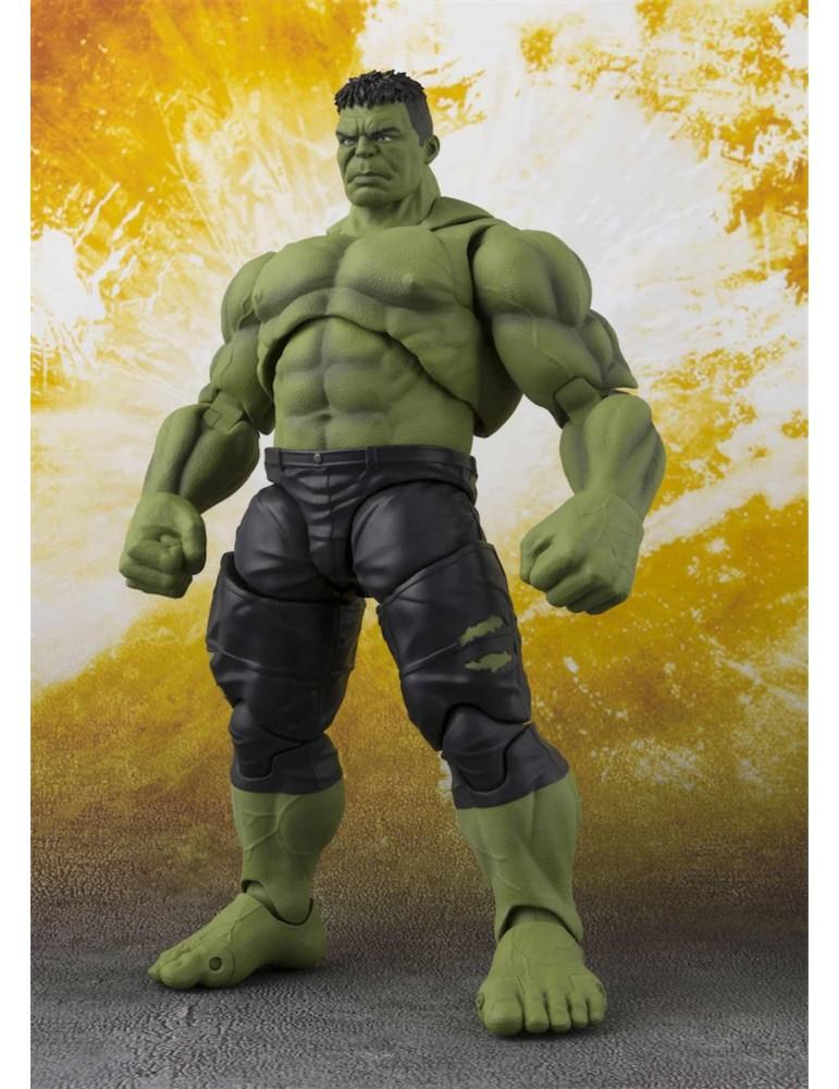 Figura Marvel Avengers Infinity War S.H.Figuarts: Hulk 21 cm