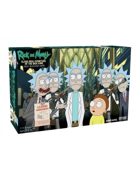 Rick and Morty: Close Rick-Counters of the Rick Kind Deck-Building Game