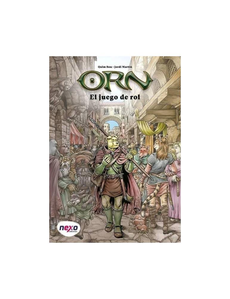 Orn, el juego de rol + Lámina ilustrada