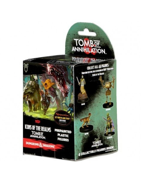 Dungeons & Dragons Fantasy Miniatures: Tomb of Annihilation - Booster Pack