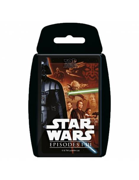Top Trumps Star Wars: Episodios I-III