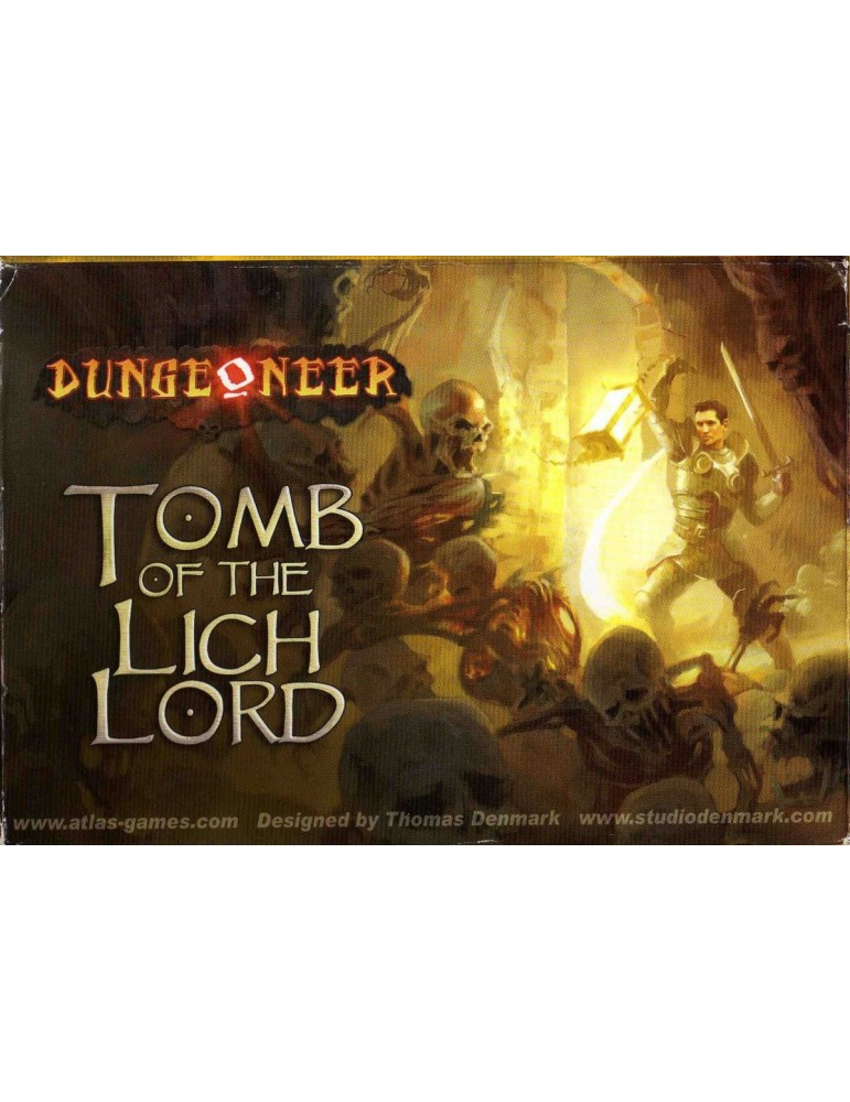 Dungeoneer: Tomb of the Lich Lord (Inglés)