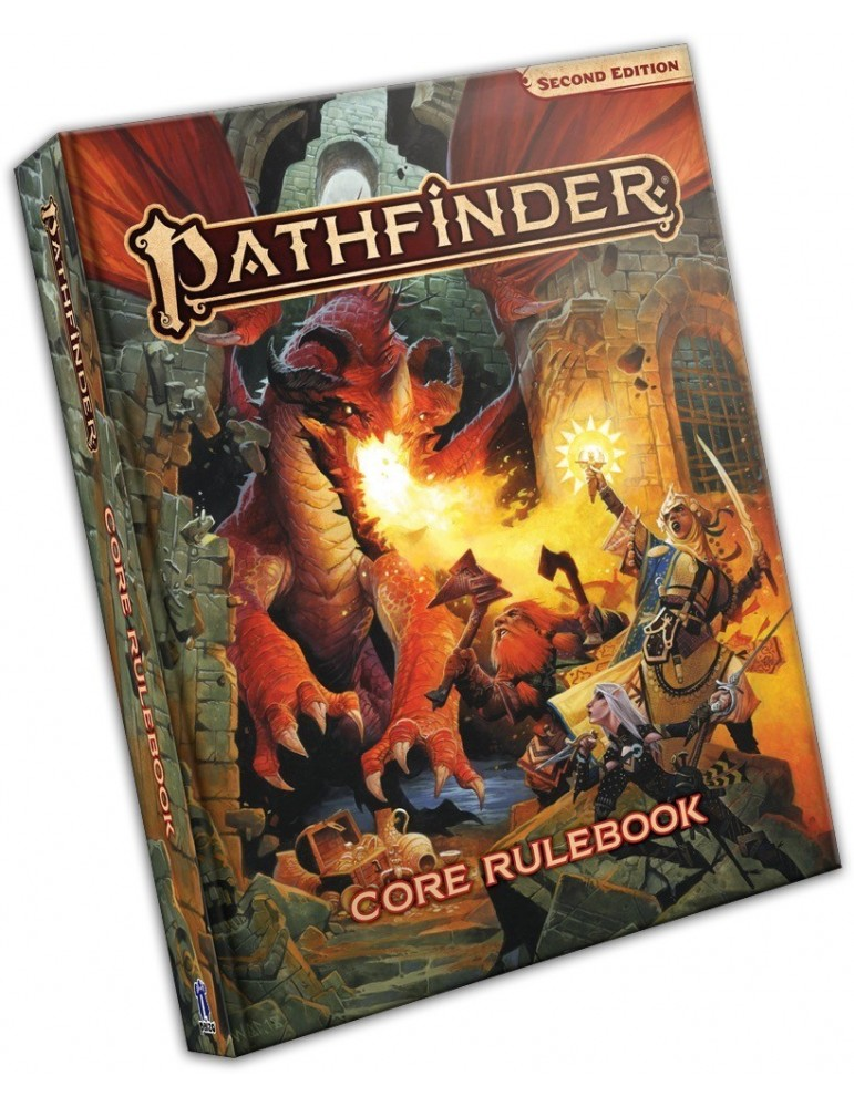 Pathfinder: Second Edition - Core Rulebook (Inglés)