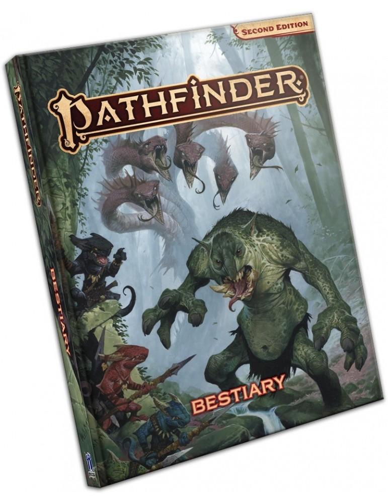 Pathfinder: Second Edition - Bestiary (Inglés)