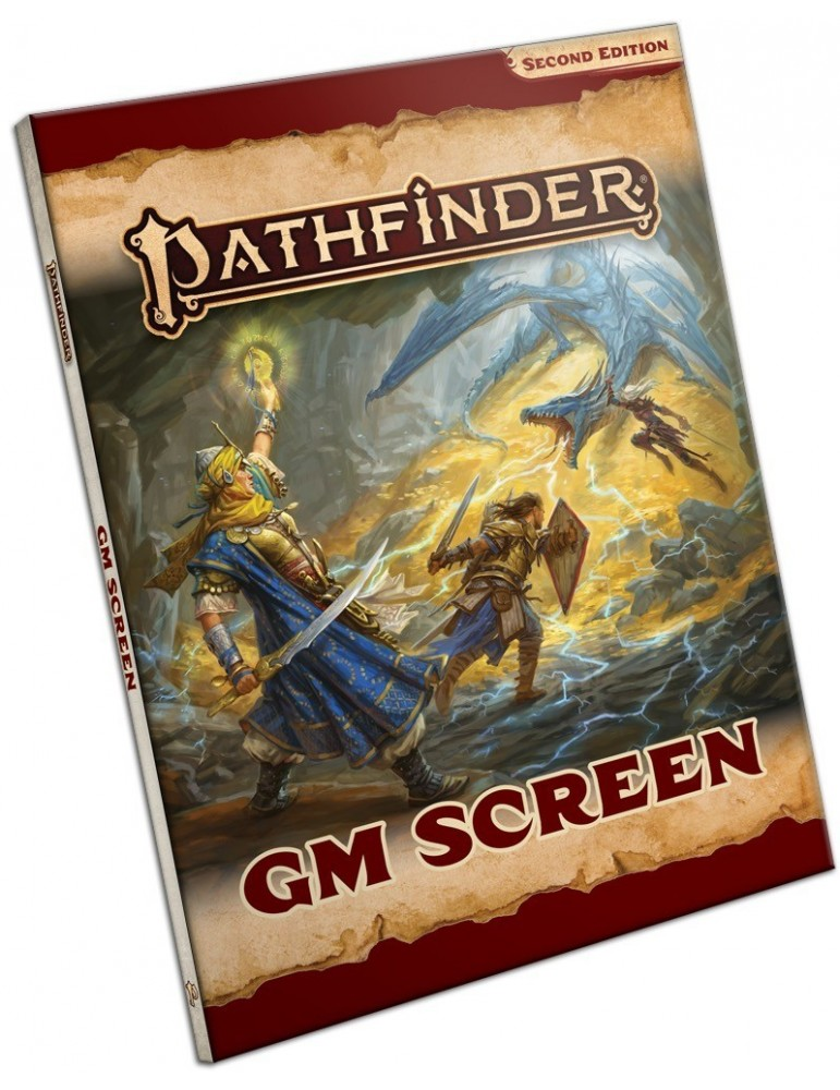 Pathfinder: Second Edition - Game Master Screen (Inglés)