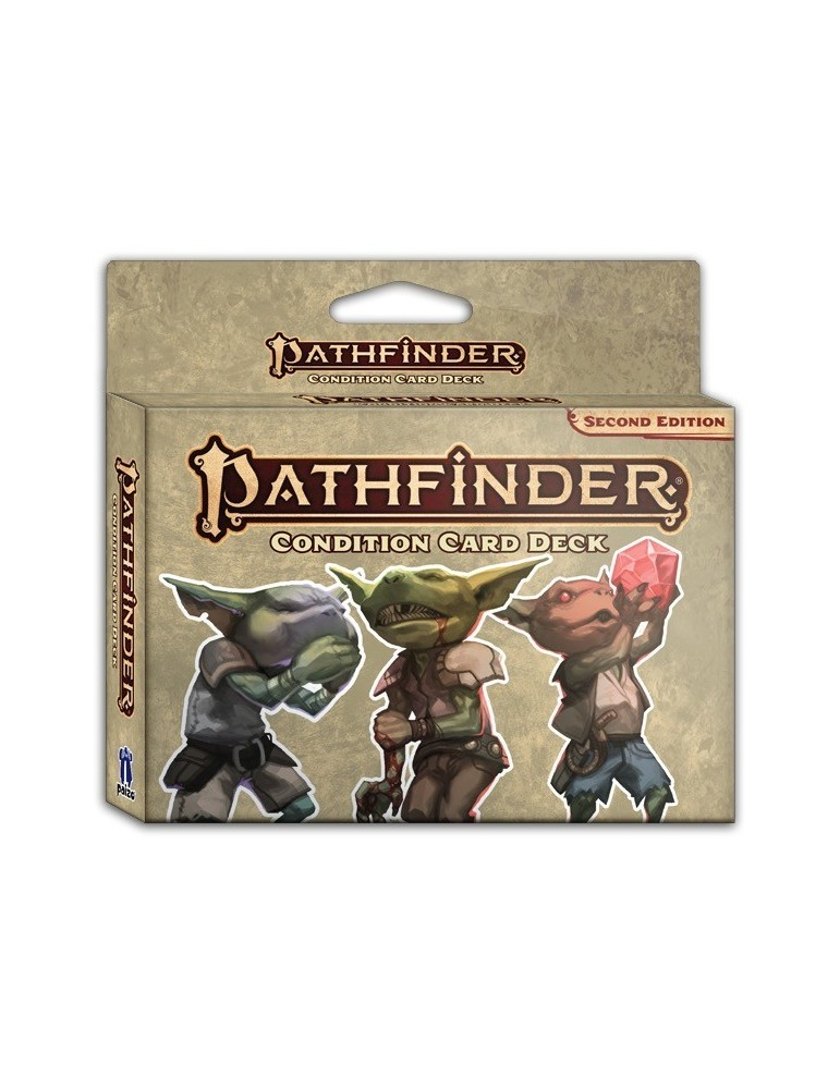 Pathfinder: Second Edition - Condition Card Deck (Inglés)