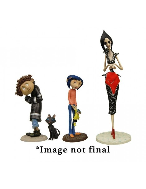 Pack de 4 Figuras Coraline: Best of 3-14 cm