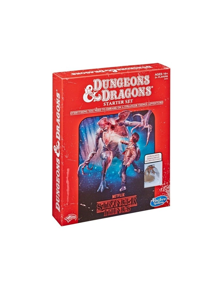 Dungeons & Dragons: Strangers Things Starter Set (Castellano)