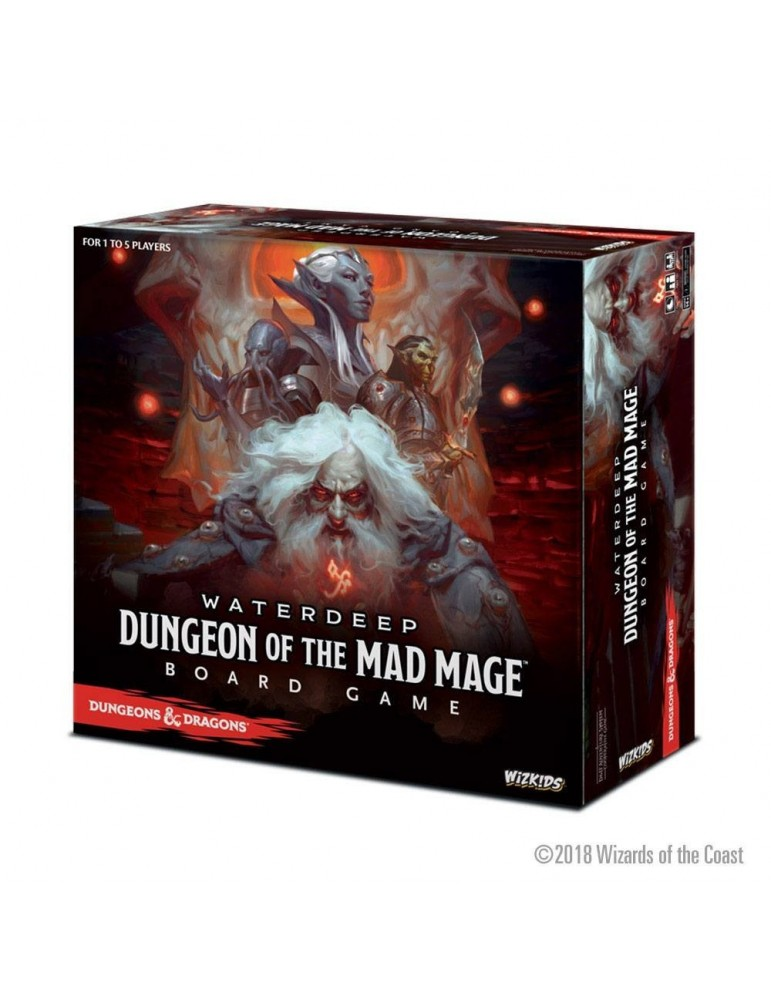 Dungeons & Dragons: Waterdeep Dungeon of the Mad Mage Standard Edition Board Game