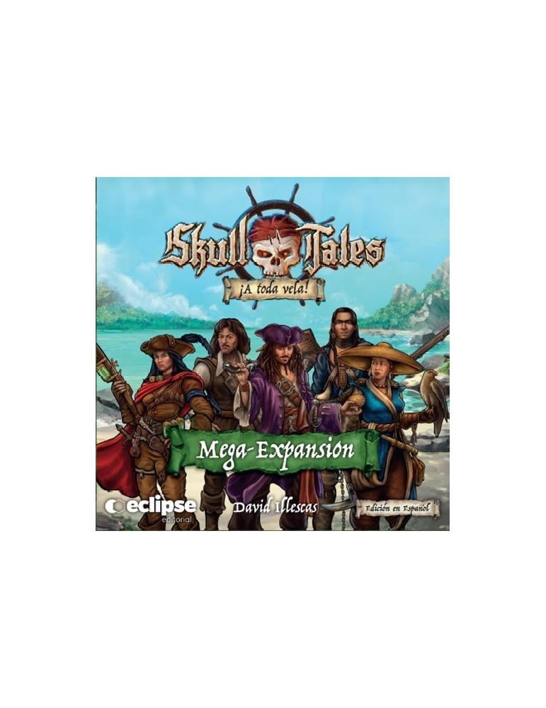 Skull Tales: ¡A toda vela! - Mega-Expansión (Inglés)