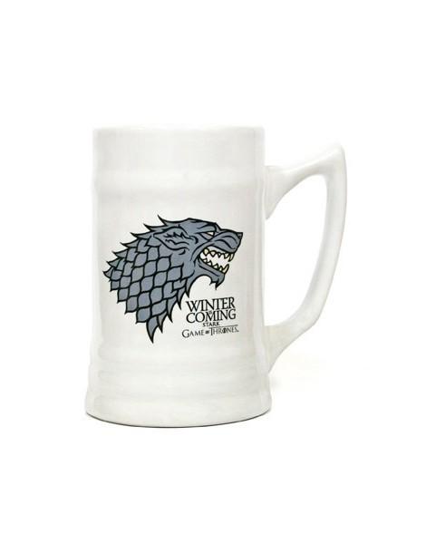 Winter is Coming Stark Jarra cerámica Juego de Tronos