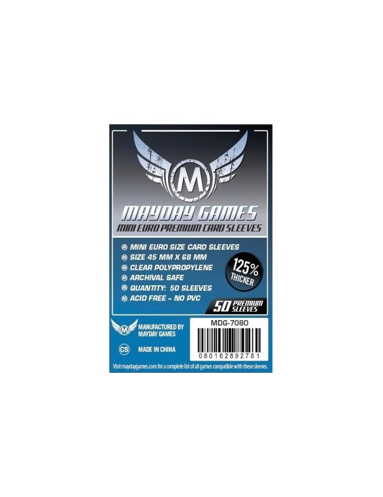 Fundas Mayday Mini Eurogame Premium 45x68 mm (50 unidades)