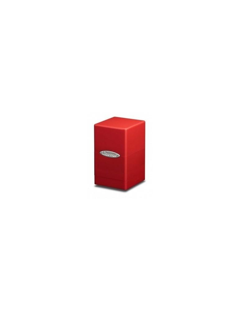 Satin Tower Deck Box (Rojo)