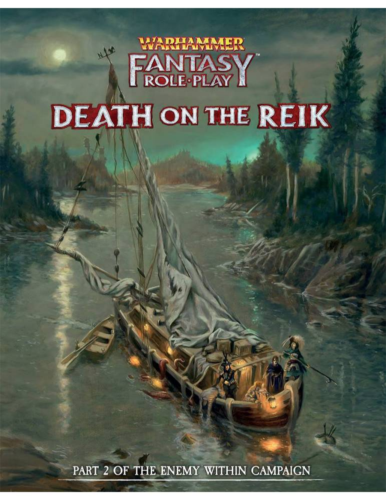 Warhammer Fantasy RPG: Death on the Reik - Enemy Within Volume 2 (Director's Cut)