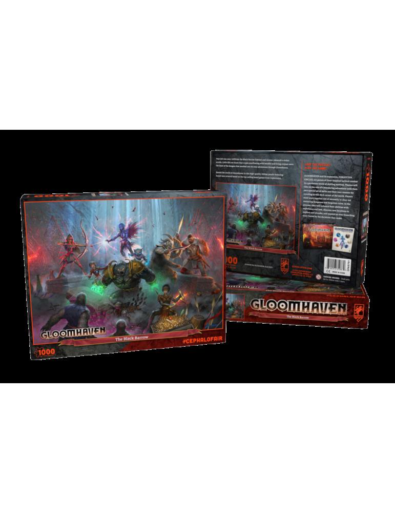 Puzle Gloomhaven: The Black Barrow (1000 pc)