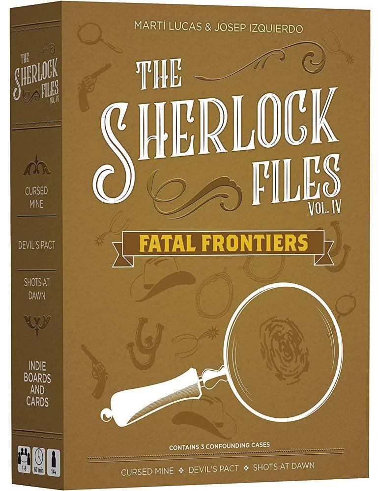 The Sherlock Files: Vol IV - Fatal Frontiers