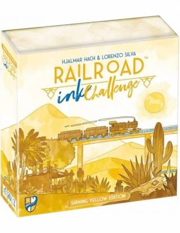 Railroad Ink Challenge: Shining Yellow Edition