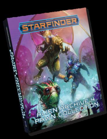 Starfinder Pawns: Alien Archive 4 Pawn Collection