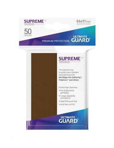 Fundas Ultimate Guard Supreme UX (50 Uds) Color Marrón