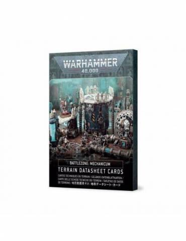 Battlezone: Mechanicum - Terrain Datasheet Cards (Inglés)