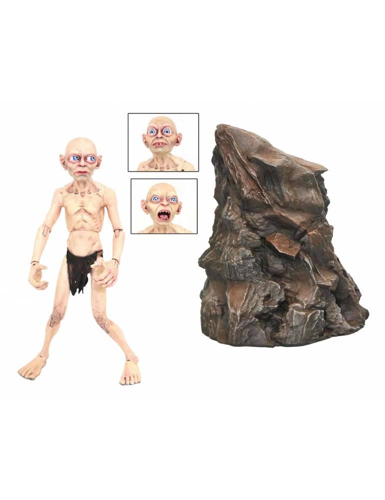 Figura El Señor de los Anillos Deluxe: Gollum