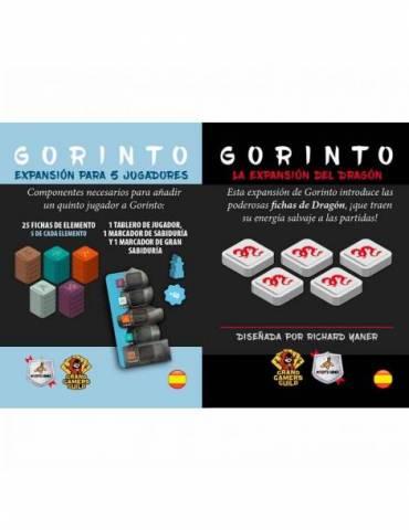 Pack Gorinto: La Expansión del Dragón + Gorinto: Expansión para 5 Jugadores
