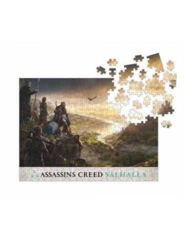 Puzle Assassins Creed Valhalla: Planificación Asalto (1000 Piezas) (50 x 70 cm)