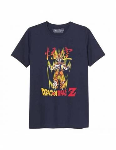 Camiseta Negra Chico Dragon Ball: Super Saiyan Goku