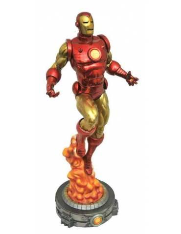 Diorama Marvel Gallery: Iron Man Clásico 28 cm