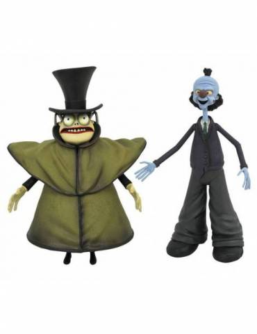 Set de 2 Figuras Pesadilla antes de Navidad Serie 10: Mr. Hyde with Corpse Dad