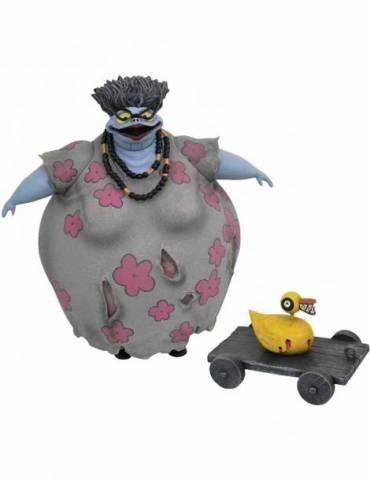 Set de 2 Figuras Pesadilla antes de Navidad Serie 10: Corpse Mom with Duck Gift